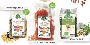 Le réseau spécialisé Bio allemand promeut la pâtes san gluten Provençale